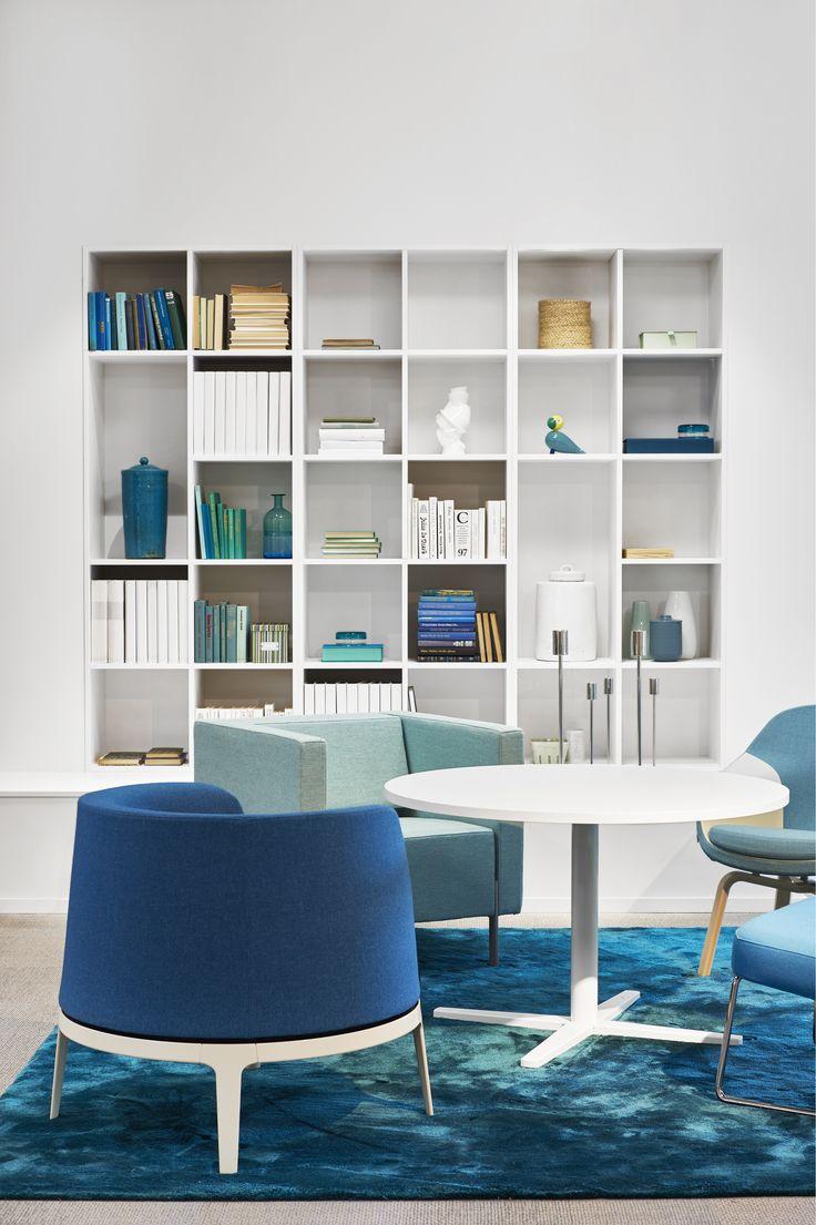 Centrum table, design: Sandin & Bülow | Omni easy chair, design: Carl Öjerstam | Pax easy chair, design: Fredrik Mattson