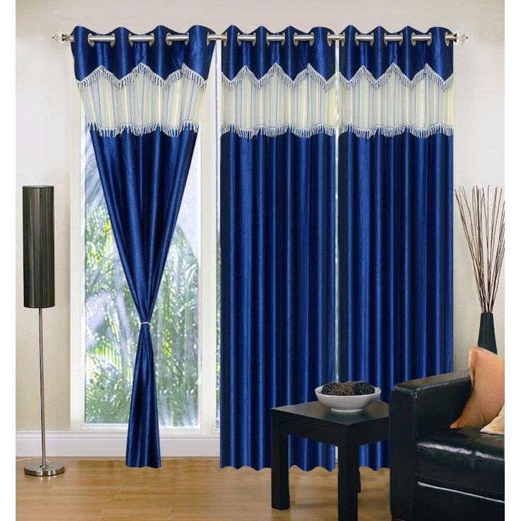 Buy ready made Curtains Online of premium designer range at affordable price . Access our huge ready made curtain collection of Window Door and Long Door ... & 92 best Curtains images on Pinterest | Door curtains Door hangings ...