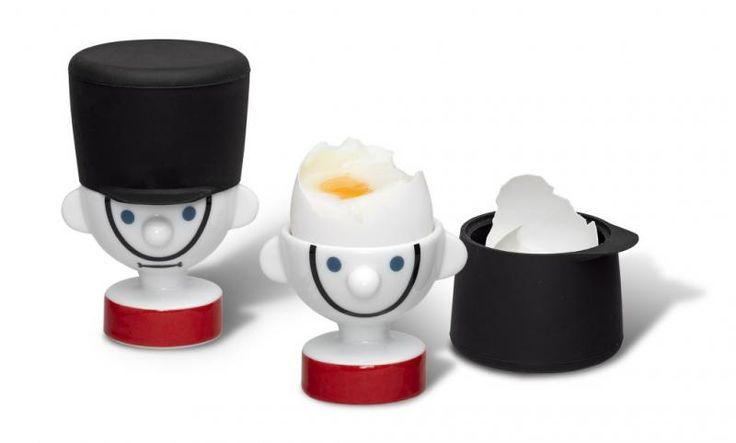Zestaw 2 podstawek do jajek - Strażak  || #christmas #gift #idea