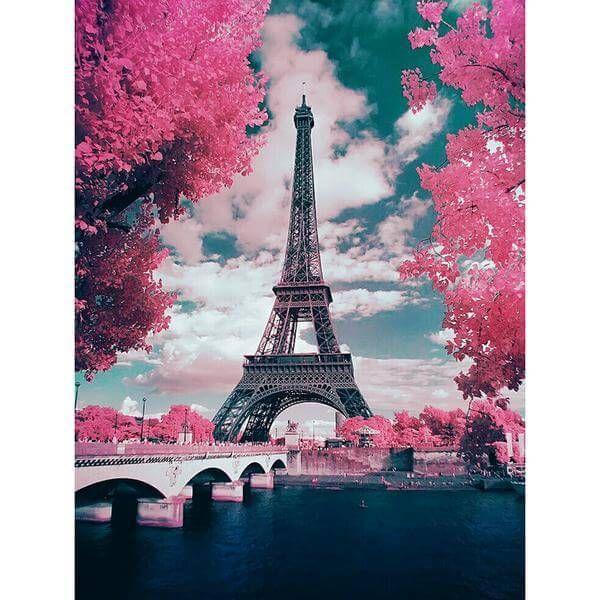 Pink Paris 5d Diamond Painting Untitled Artisan Crochettoy Crochetart Crochetbag Crochetersofig Cr Paris Wallpaper Eiffel Tower Beautiful Wallpapers Cool pink paris wallpapers