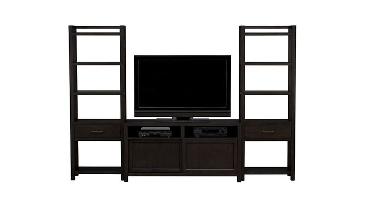 "Moore 60"" Media Console with Two Towers 