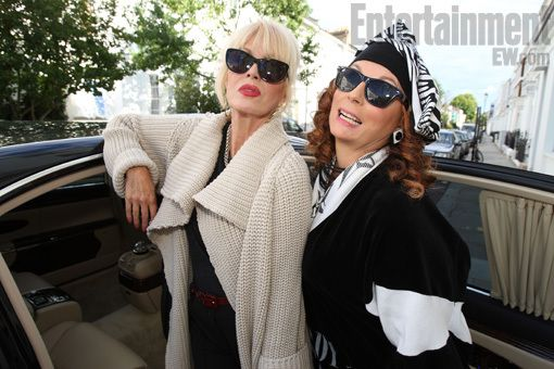 First Look: 'Absolutely Fabulous' returns with Patsy and Edina — EXCLUSIVE PHOTOS