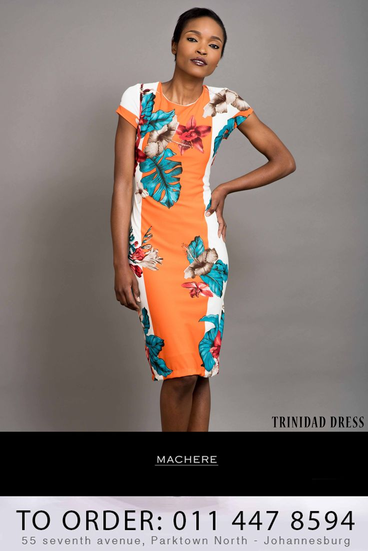 A preview to our #Summer2014Collection order your 'Trinidad Dress' now call us on 0114478594 / Macherep@gmail.com