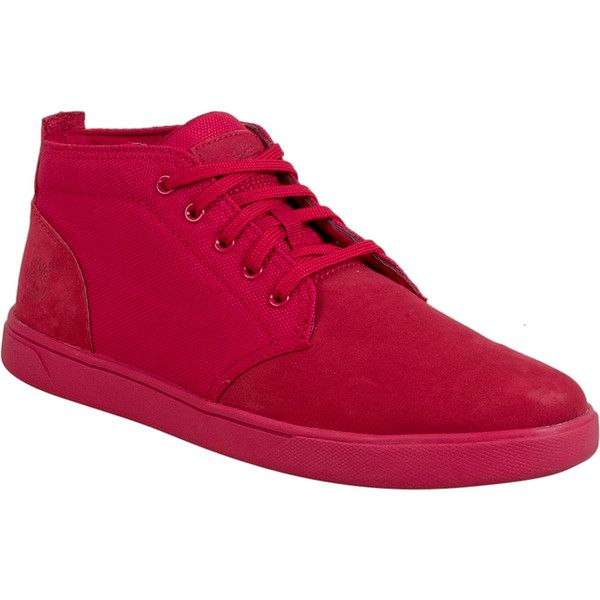 Timberland Earthkeepers Groveton Men's Chukka Boot ($80) ❤ liked on Polyvore featuring men's fashion, men's shoes, men's boots, red, mens chukka shoes, timberland mens shoes, mens shoes chukka boots, mens red shoes and mens shoes