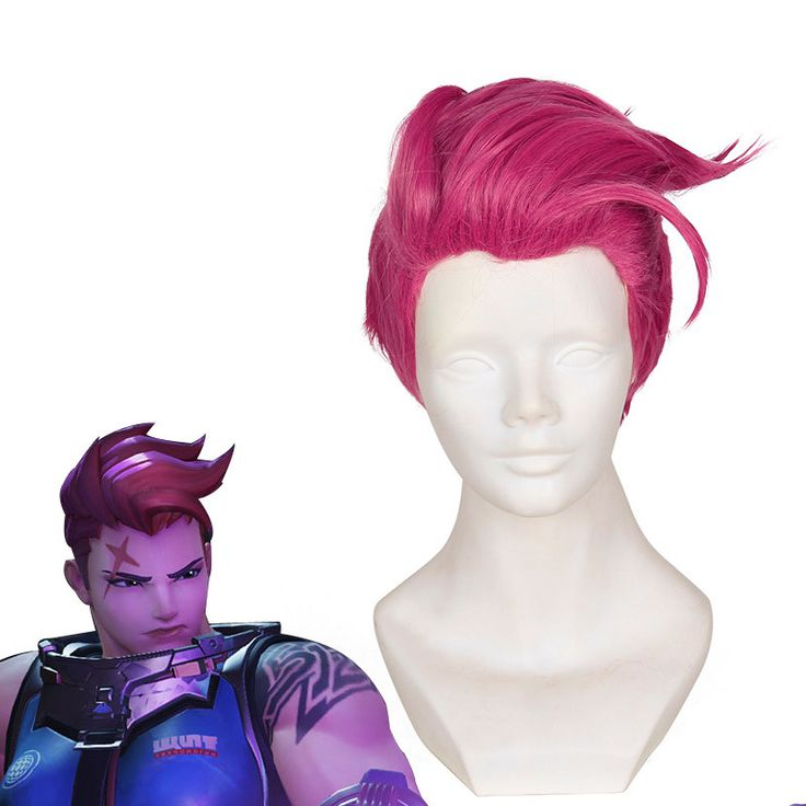Overwatch Cosplay Zarya Wig