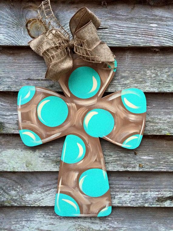 Cross Door Hanger by AprilHowellDesigns on Etsy