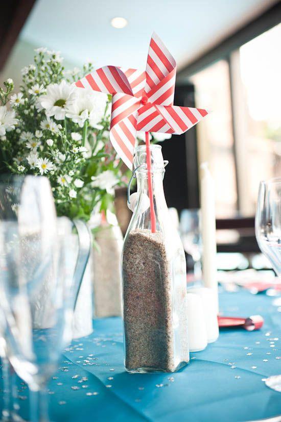 A Red & Blue Themed South African Beach Wedding: Rupert & Liana