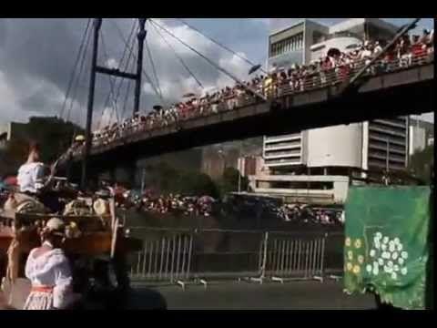 desfile silleteritos 2015 en vivo - YouTube