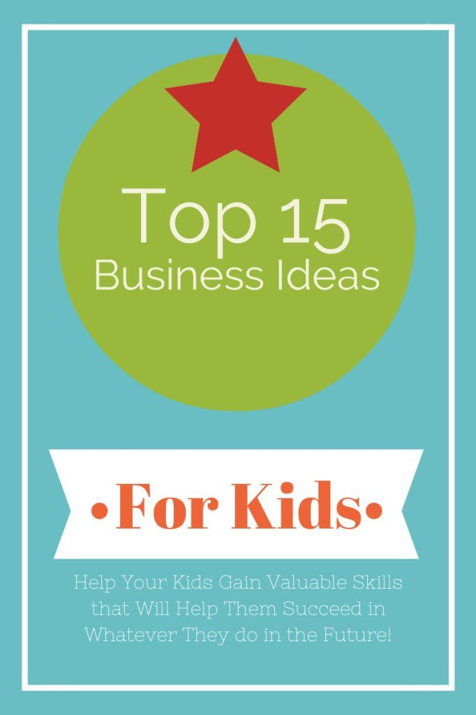 Great list of ideas for kids to make money.