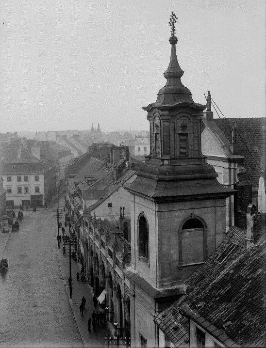 Freta, początek XX wieku. fot. Zdzisław Marcinkowski,