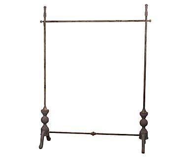 Напольная вешалка для одежды - металл, 173х123х20 см