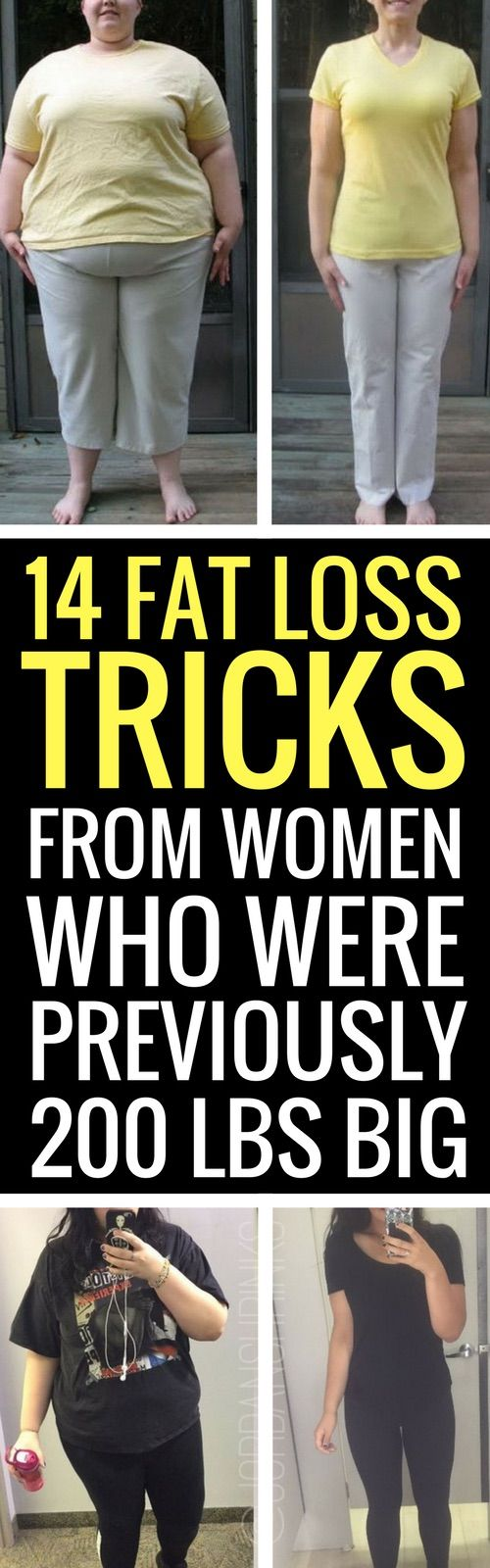 14 weight loss tricks from women who have lost at least 50 pounds.