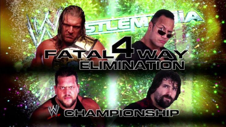 Let's Play WWE 2K14 WrestleMania 2000