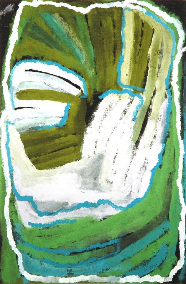 Jan Billycan - 91x61cm - Kirriwirri, 2011