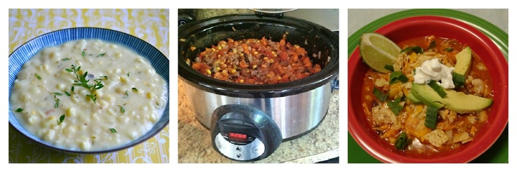 Crock Pot Round-Up via My Retro Kitchen!  Lots of great crock pot recipes in one post!