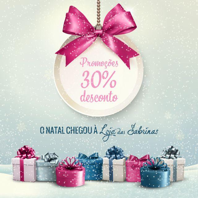 Precisa de inspiração para os presentes de natal?☺ Conheça as nossas promoções: http://www.lojadassabrinas.com/promotions