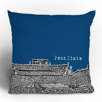 DENY Designs Bird Ave Penn State University Throw Pillow