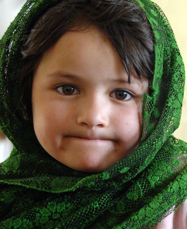 Pakistan | Beautiful Postcard Innocent Girl Of Hunza