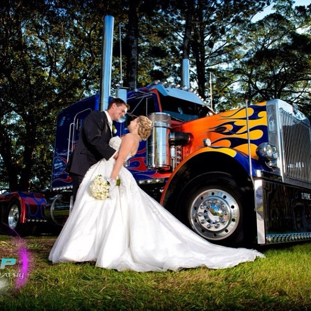 semi truck wedding cake toppers 12 best trucker themed wedding images on 19742