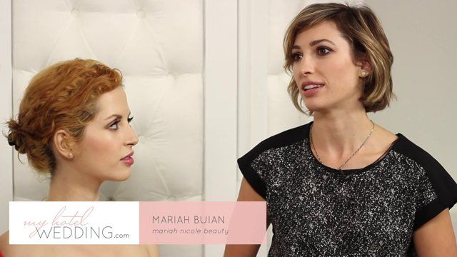 Celebrity beauty stylist Mariah Nicole dishes on the latest spring wedding makeup trends
