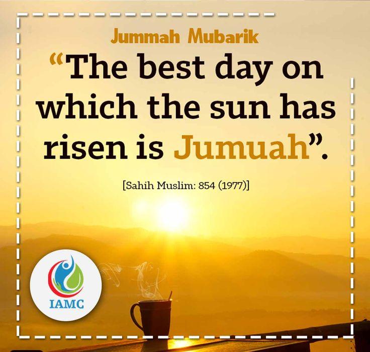 #Jummah #Mubarak to everyone.