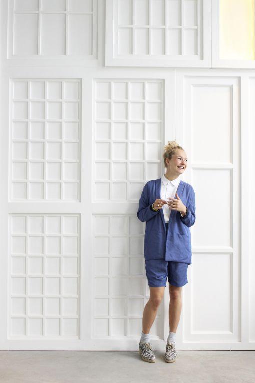 Modstrom shorts & blazer  Welovestijl.com