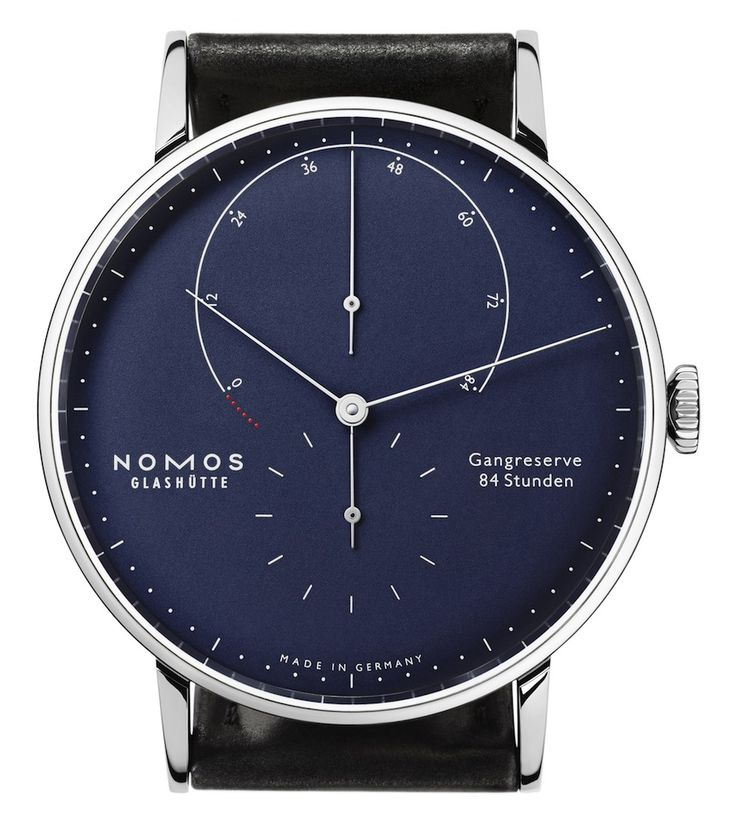 BlogToWatch: Nomos Lux & Nomos Lambda Gold Watch Lines Enhanced With Beautiful Colors And Smaller Cases