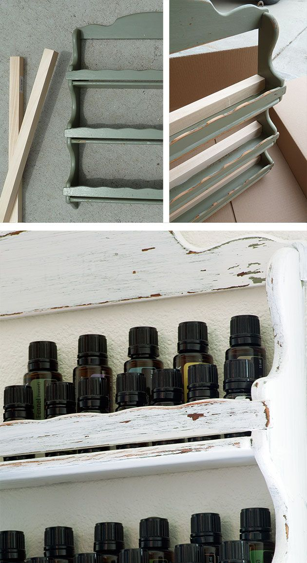 DIY Essential Oil Rack - Lexie's Kitchen | Gluten-Free Dairy-Free Egg-Free -