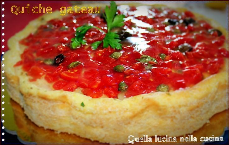 quiche gateau  #tortesalate #ricettesenzaglutine #glutenfree