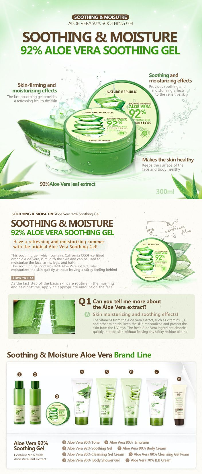 Rima Angel Is New Beauty Blogger Koreanmakeuptutorial Nature Republic Aloe Vera Aloe Vera Skin Care Skin Care