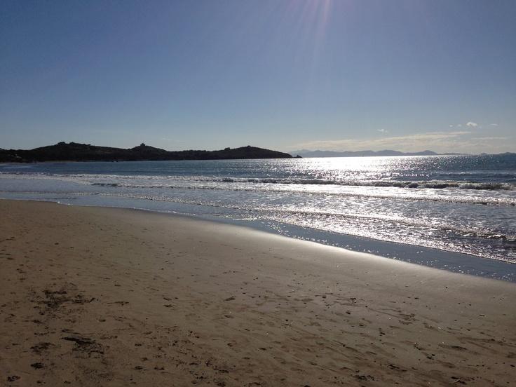 Finalmente bella serata in spiaggia a Punta Ala !