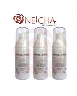 Neicha Sterilizing Lash Foam 50ml Sterilizing  olie vrie Lash foam speciaal voor wimperextensions. Bij happywimperextensions.nl