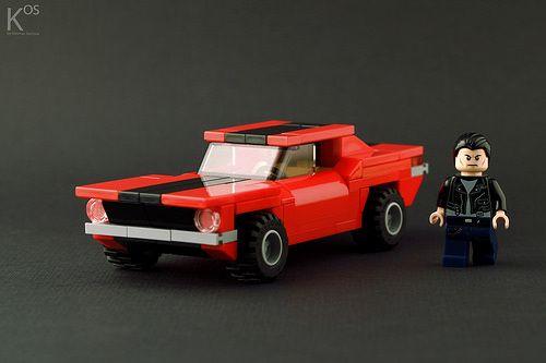 Lego City Mustang