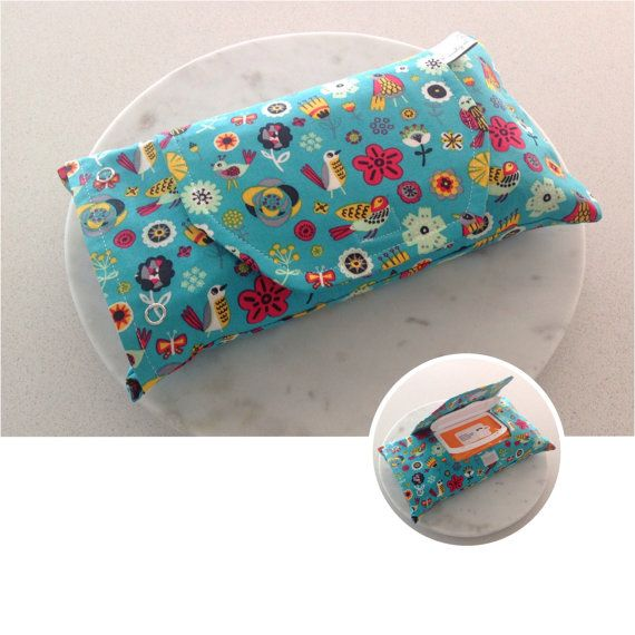 Leashy Lou wipes pouches are great way to hide those plastic wipes packets!  suits most plastic wipes packets  size 26.5cm *15.5cm  features a flap with velcro tab  stainless snap closure  This item is made ready to ship!  Can be custom made in other fabrics Production time for custom orders is 3 weeks Please visit www.leashylou.com Thank you for looking