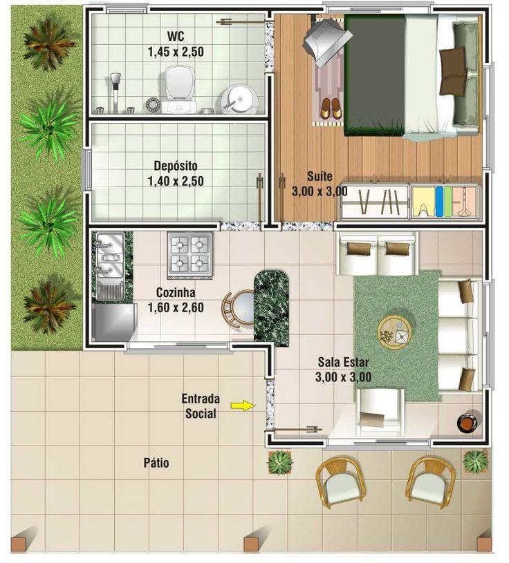 planos de casas pequenas en nicaragua