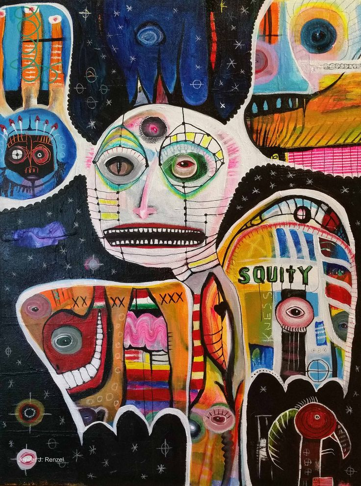 Outsider Art: Squity by bugatha1                                                                                                                                                      More
