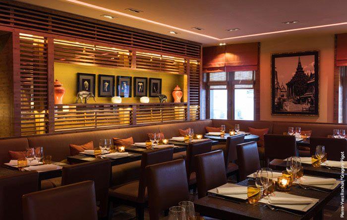 Plus de 1000 id es propos de restaurant interior and exterior sur pinterest - Restaurant thiou paris ...