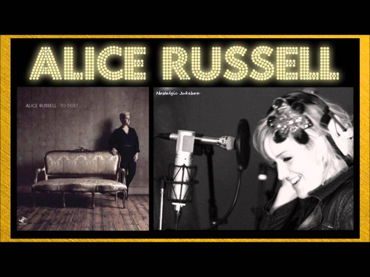 Alice Russell - Let Go (Breakdown) - Alice Russell is a British soul singer. She is the daughter of an organist, and grew up in Framlingham, Suffolk.