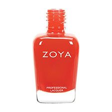 Rocha by Zoya can best be described as a classic folly red cream with warm undertones that enhace a summer glow!