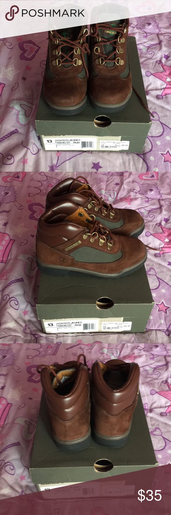Girls/boys Timberland boots Girls/boys Timberland boots worn 1 time Shoes Boots