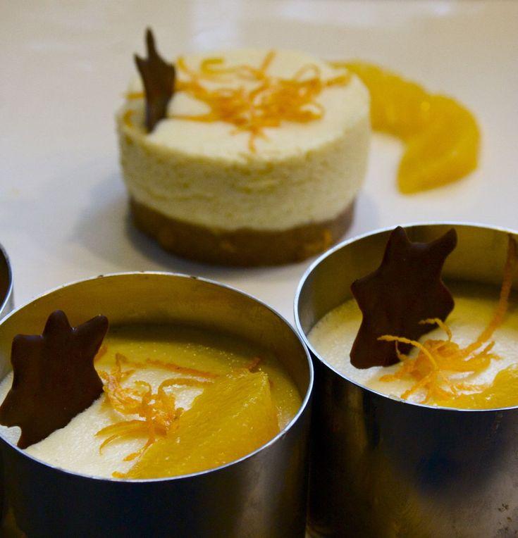 Orangentörtchen mit Spekulatiusboden - Glutenfrei Backen und Kochen bei Zöliakie. Glutenfreie Rezepte, laktosefreie Rezepte, glutenfreies Brot