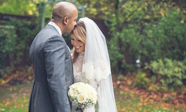 """Katie Piper married  Richard Sutton and said: """"One of the best days of my life"""" wedding on 6 November 2015"""