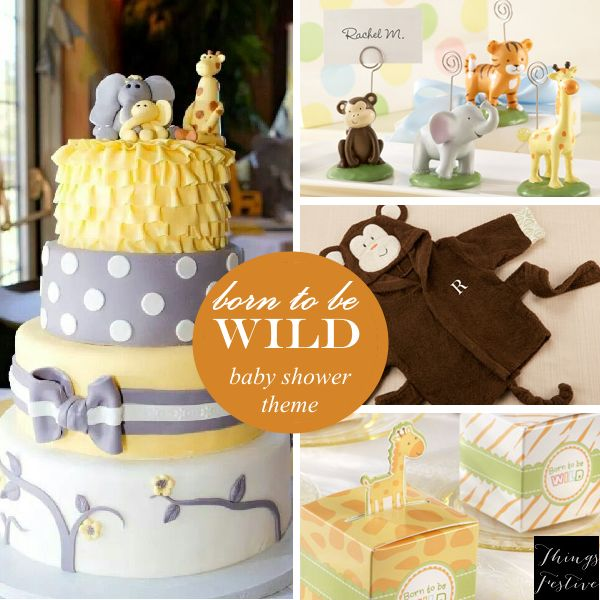 Neutral Baby Themes: Baby Shower Theme Idea: Born To Be Wild