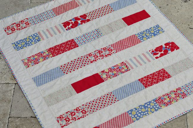 Mia Dolce Originals - Modern Quilts and DIY Projects: Hello Betty Patchwork Quilt