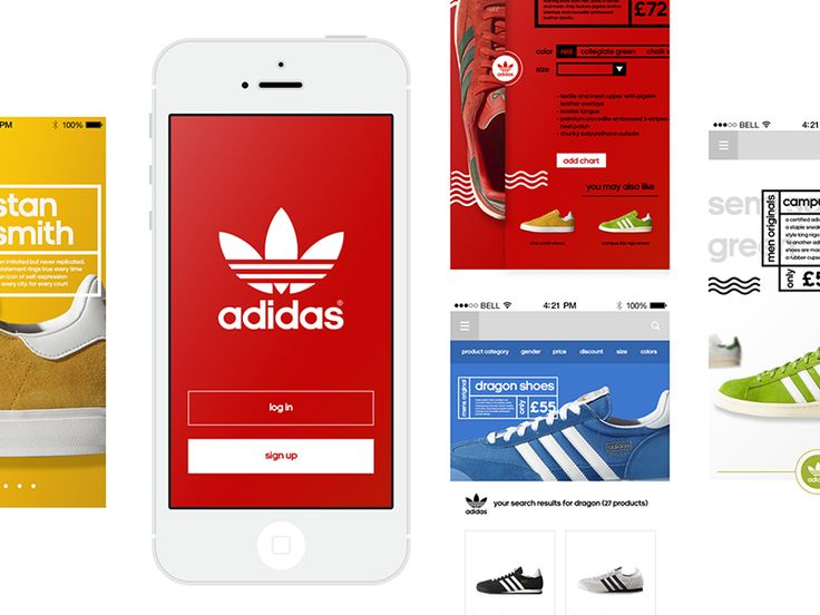 WIP05 Adidas - Redesign Concept