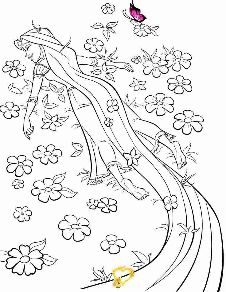 Coloring Pages For Kids Disney Tangeled Coloring Pages For Kids Coloring Pages For Kids In 2020 Tangled Coloring Pages Disney Coloring Pages Rapunzel Coloring Pages