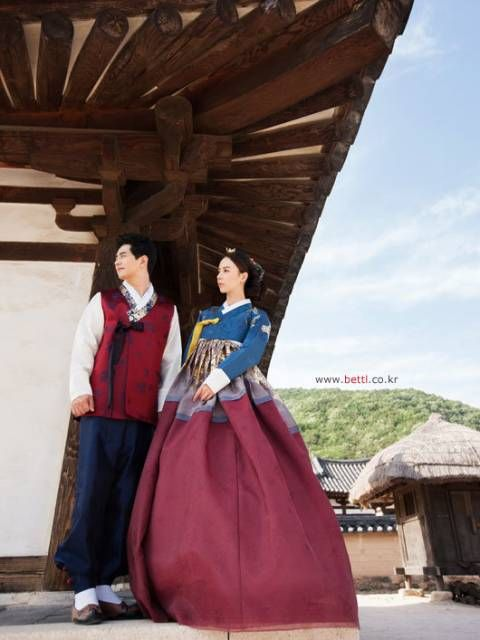 한복 Hanbok : Korean traditional clothes[dress] #ModernHanbok #Wedding #Dress #한복…