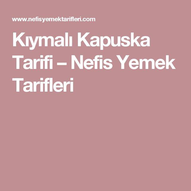 Kıymalı Kapuska Tarifi – Nefis Yemek Tarifleri