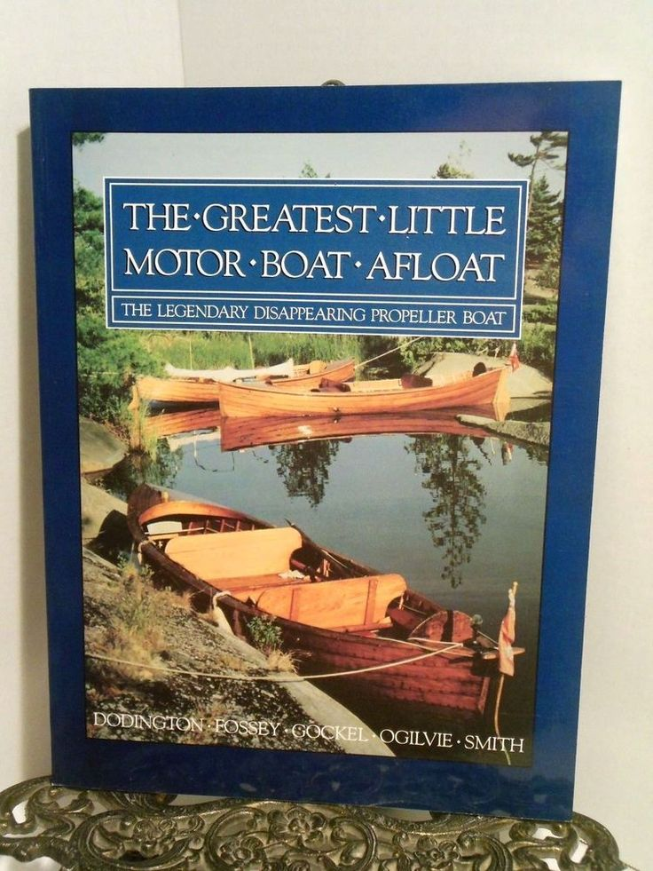 Greatest Little Motor Boat Afloat  The Legendary Disappearing Propeller Dispro