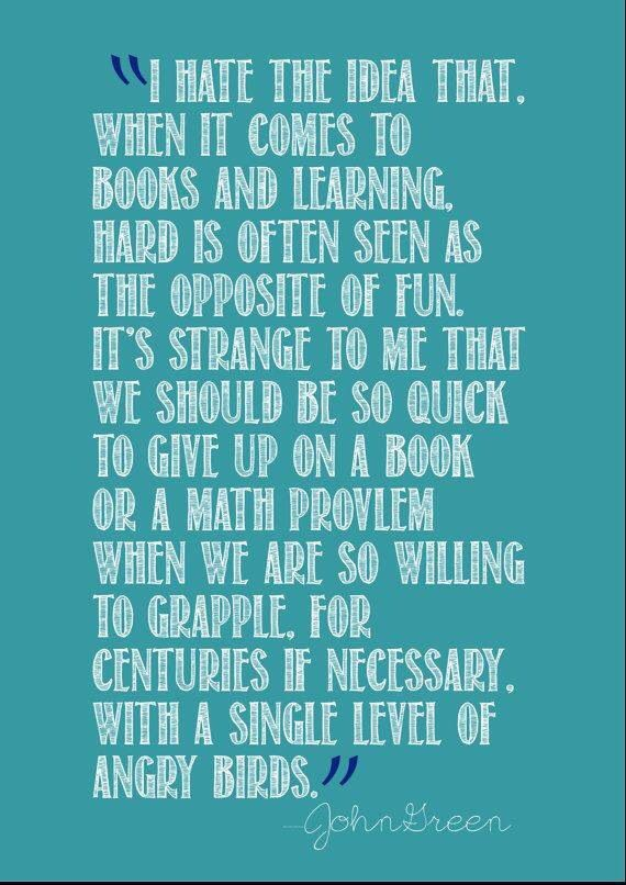 quotes about books john green - photo #28